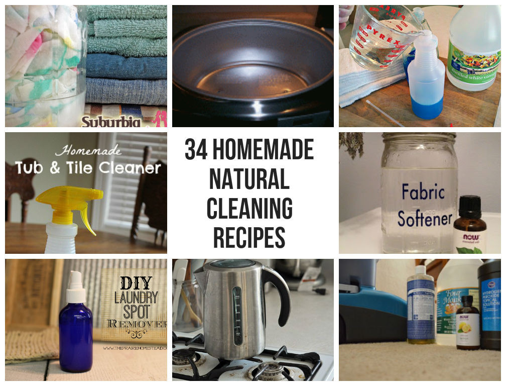 Best ideas about DIY House Cleaning . Save or Pin 34 Homemade Natural Cleaning Recipes Now.