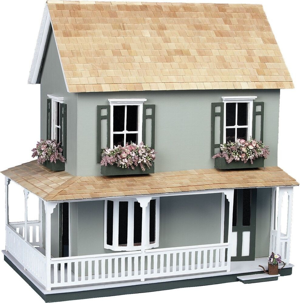 Best ideas about DIY House Kits . Save or Pin NEW 2 Floor Vintage Victorian Doll house Kit Wood Cottage Now.