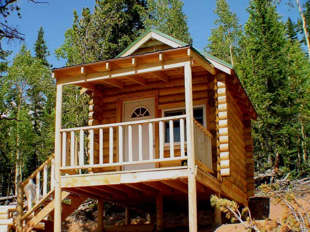 Best ideas about DIY House Kits . Save or Pin DIY Small Log Cabin Kits Build Small f Grid Cabin diy Now.
