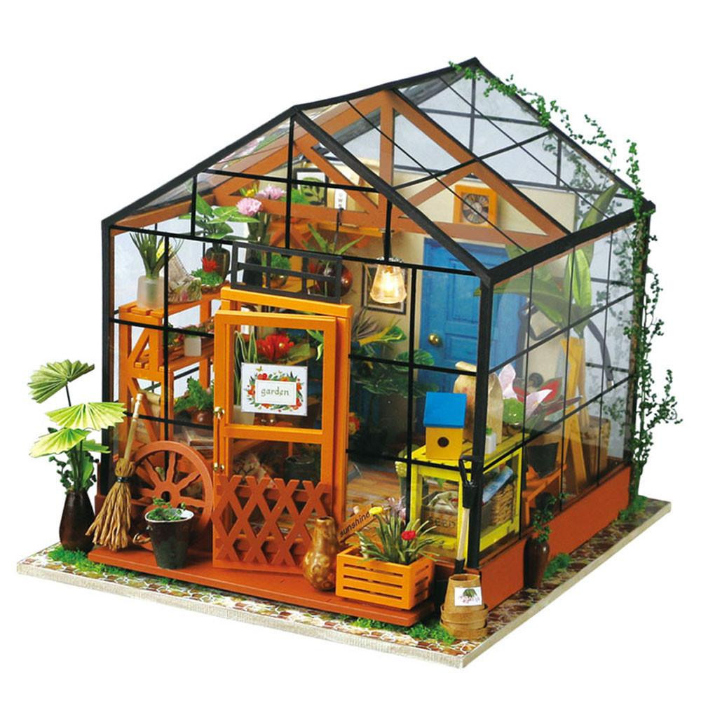 Best ideas about DIY House Kits . Save or Pin Robotime DIY Miniature Dollhouse Kit DG104 Cathy s Flower Now.