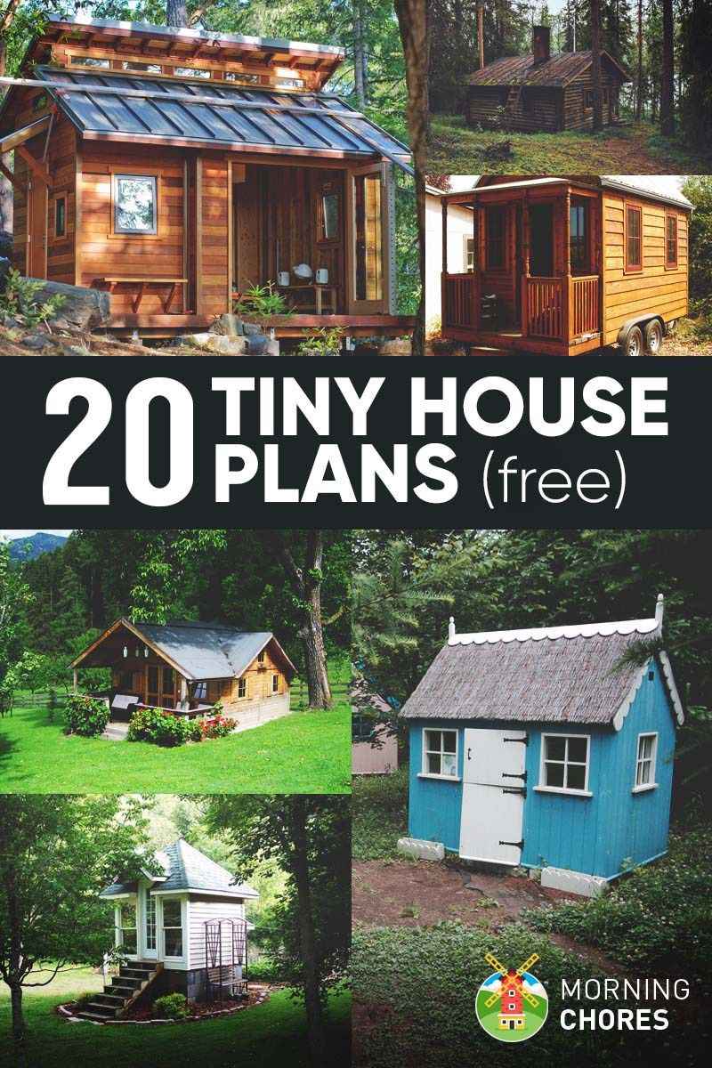 Best ideas about DIY House Kits . Save or Pin 20 Free DIY Tiny House Plans to Help You Live the Small Now.