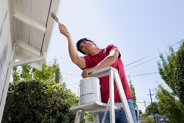 Best ideas about DIY House Painting . Save or Pin DIY Exterior House Painting Now.