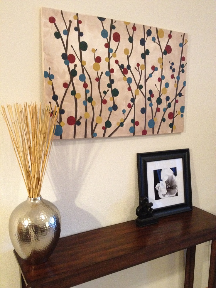 Best ideas about DIY House Painting . Save or Pin 25 best ideas about Simple canvas paintings on Pinterest Now.
