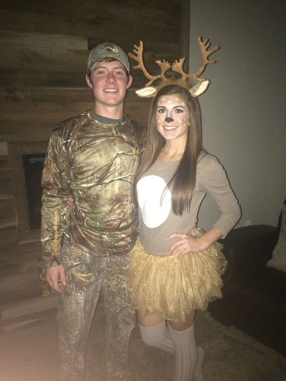Best ideas about DIY Hunter Costume . Save or Pin Deer Costume ideas and Costumes on Pinterest Now.