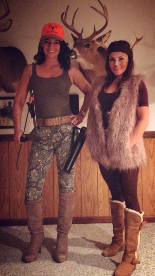 Best ideas about DIY Hunter Costume . Save or Pin Deer & Deer Hunter Halloween Costume Now.