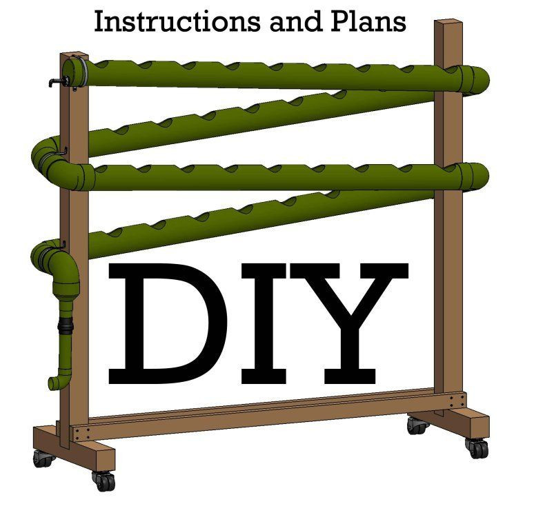 Best ideas about DIY Hydroponic Systems Plans . Save or Pin Do it Yourself Vertical Hydroponic Garden Idea Now.