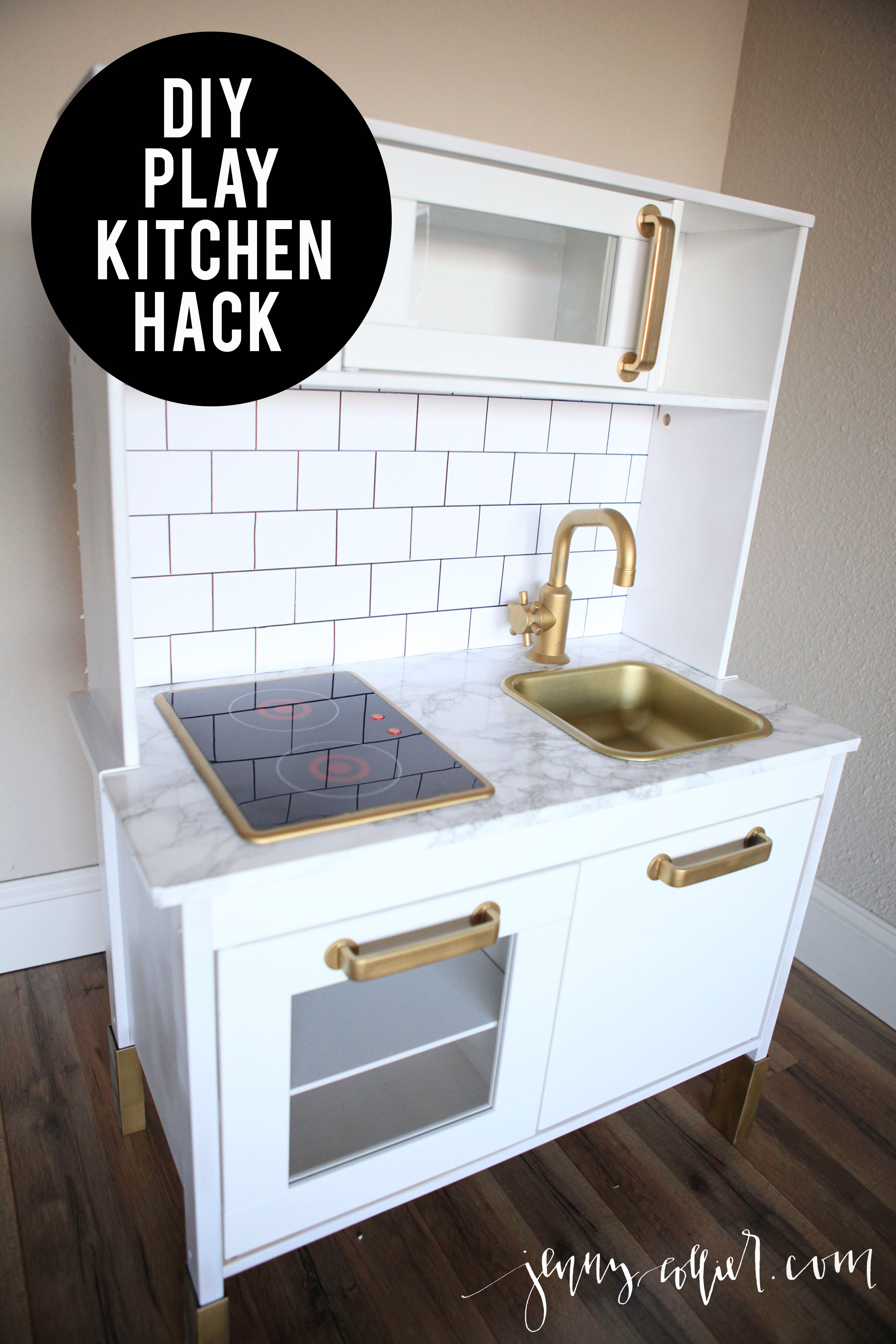 Best ideas about DIY Ikea Kitchen . Save or Pin DIY Play Kitchen Hack for makaila Pinterest Now.