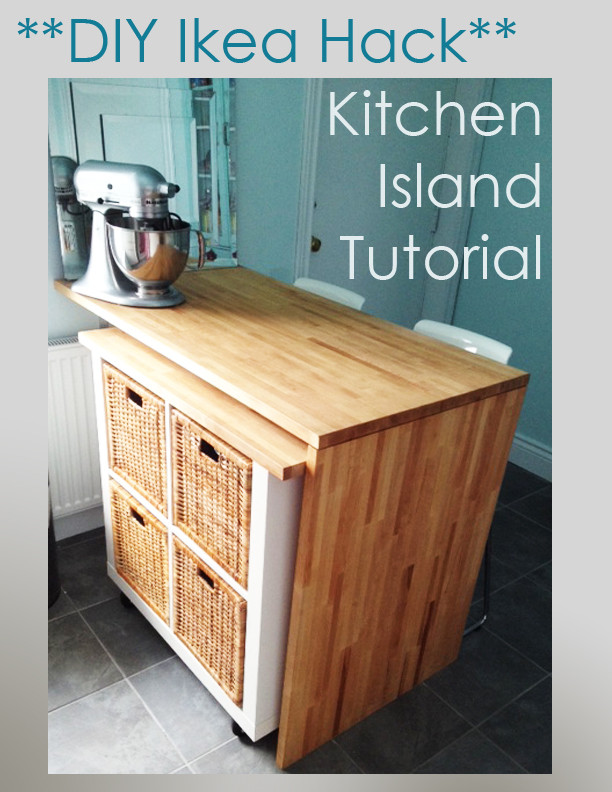 Best ideas about DIY Ikea Kitchen . Save or Pin Ikea Hack – DIY Kitchen Island Tutorial Now.