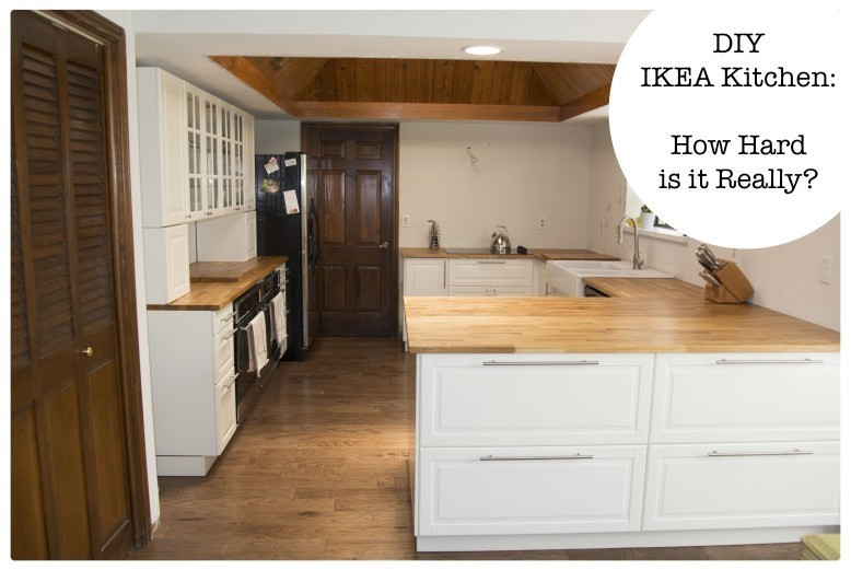 Best ideas about DIY Ikea Kitchen . Save or Pin DIY IKEA Kitchen How Hard is it Really Now.