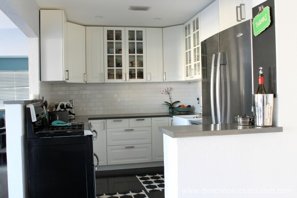 Best ideas about DIY Ikea Kitchen . Save or Pin A very delayed reveal Our DIY IKEA kitchen Directions Now.