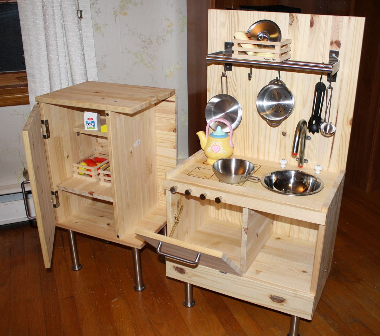 Best ideas about DIY Ikea Kitchen . Save or Pin 10 Cool DIY IKEA Play Kitchen Hacks Now.
