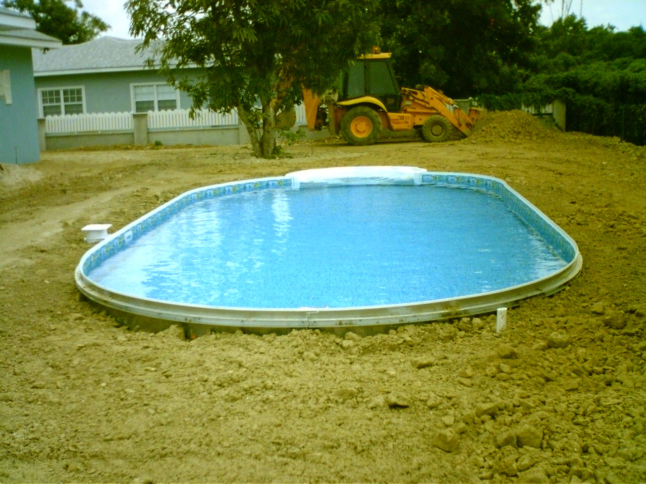 Best ideas about DIY In Ground Pool Kits . Save or Pin Easy Diy Inground Pool Now.