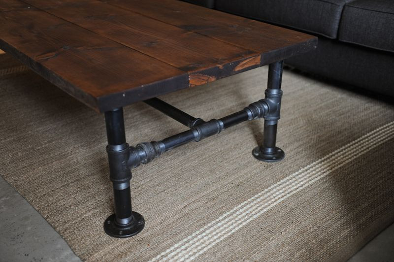 Best ideas about DIY Industrial Coffee Table . Save or Pin How To DIY Industrial Coffee Table Now.