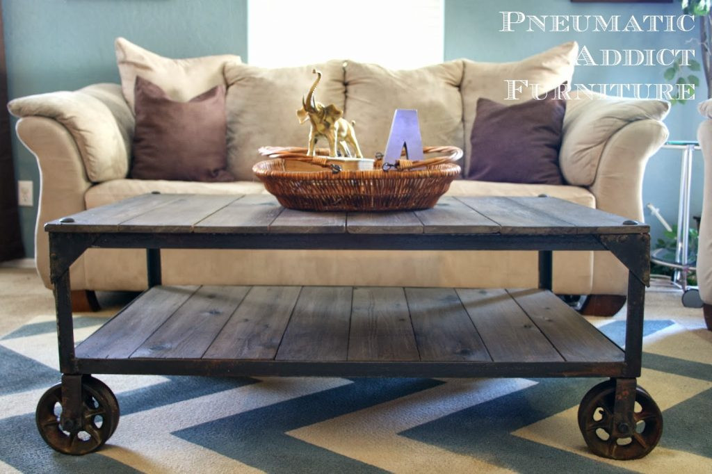 Best ideas about DIY Industrial Coffee Table . Save or Pin DIY Home Projects Taryn Whiteaker Now.
