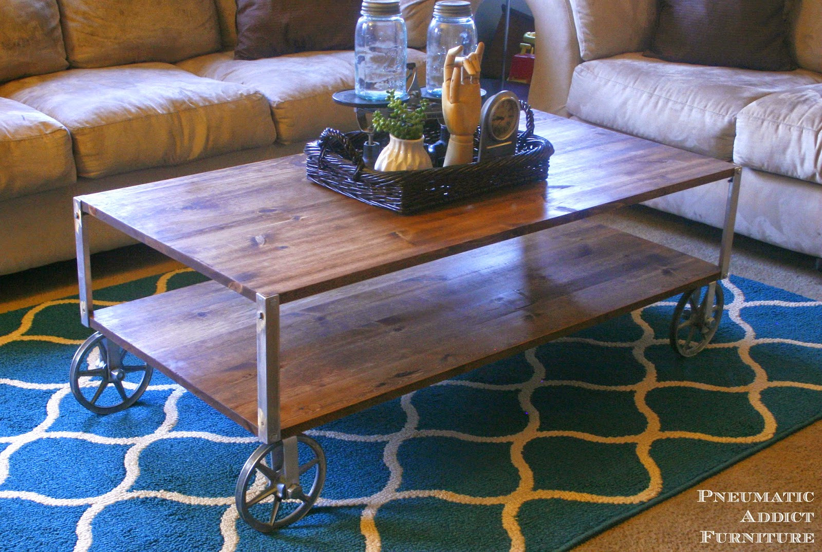 Best ideas about DIY Industrial Coffee Table . Save or Pin 50 DIY Industrial Decor Ideas Now.