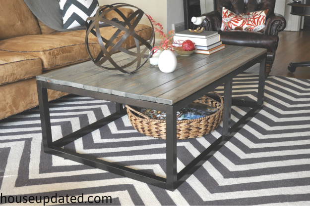 Best ideas about DIY Industrial Coffee Table . Save or Pin How to Build a DIY Industrial Coffee Table for ly $75 24 Now.