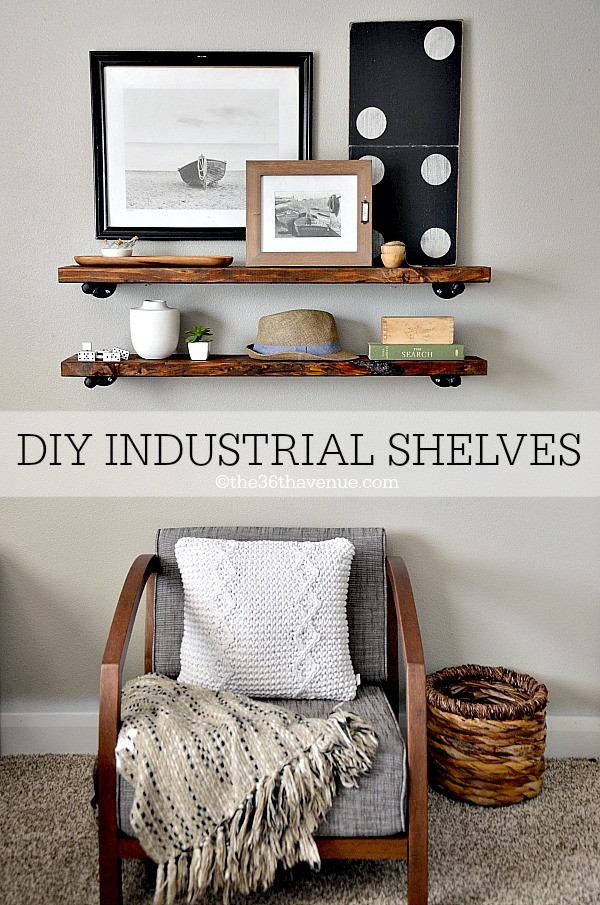 Best ideas about DIY Industrial Shelves . Save or Pin DIY Industrial Shelves The 36th AVENUE Now.