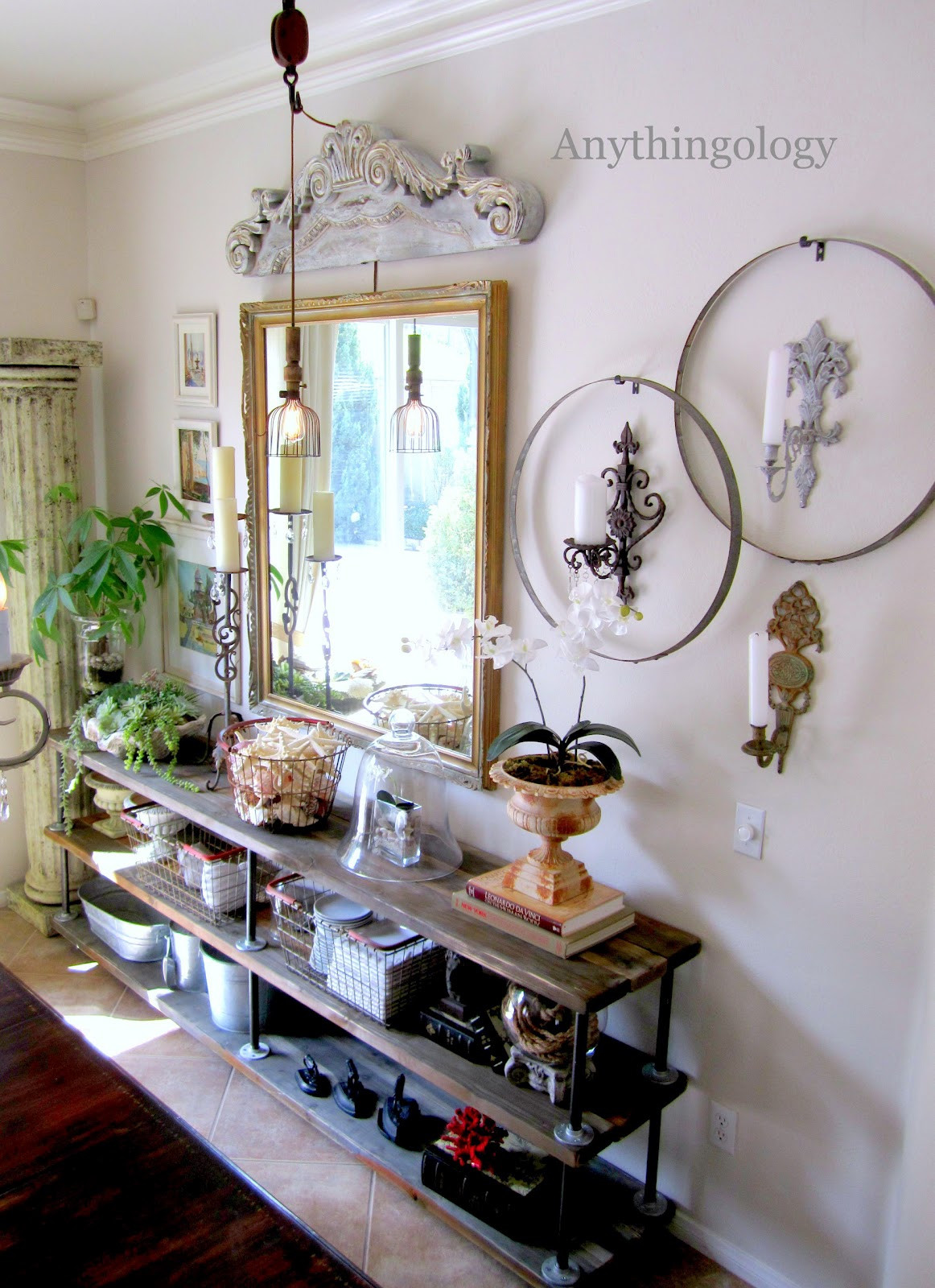 Best ideas about DIY Industrial Shelves . Save or Pin Anythingology DIY Industrial Shelves Now.