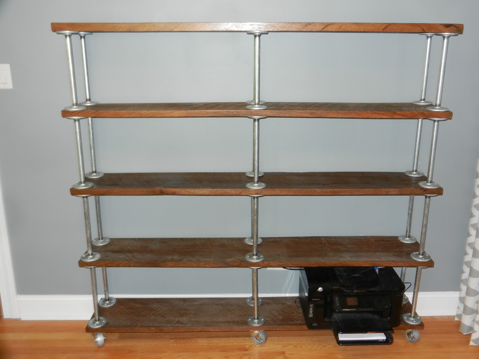 Best ideas about DIY Industrial Shelves . Save or Pin DIY Industrial Bookshelf Now.