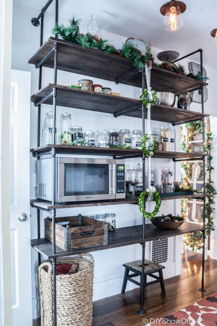 Best ideas about DIY Industrial Shelves . Save or Pin DIY Industrial Pipe Table Now.