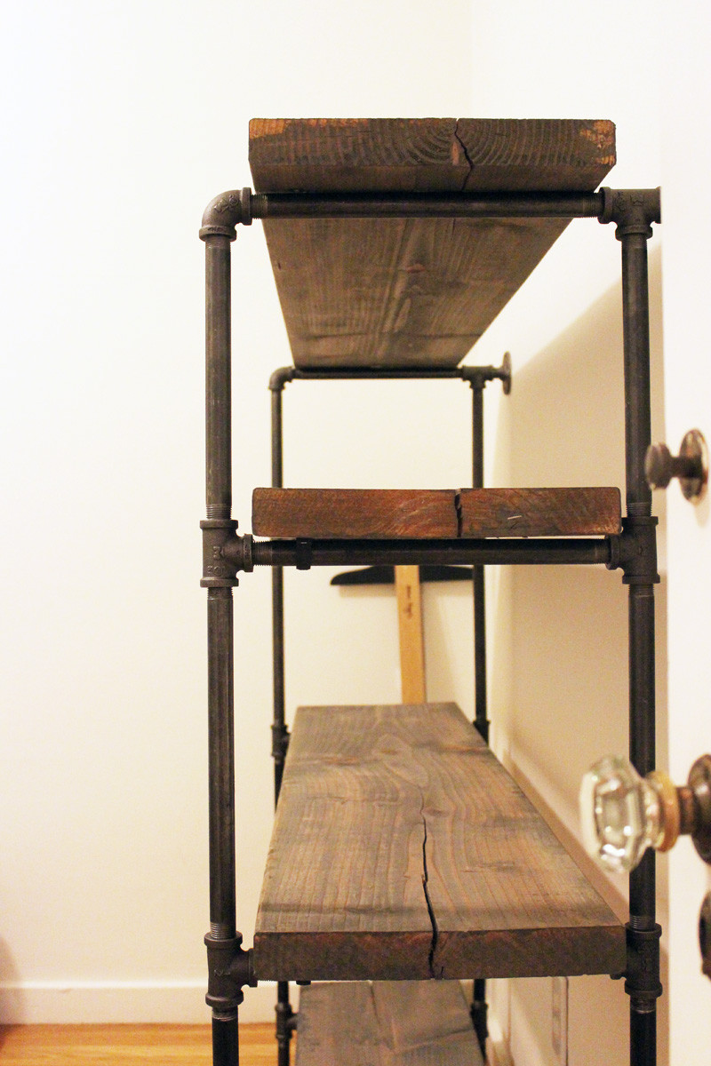 Best ideas about DIY Industrial Shelves . Save or Pin DIY Rustic Shelf Building Now.