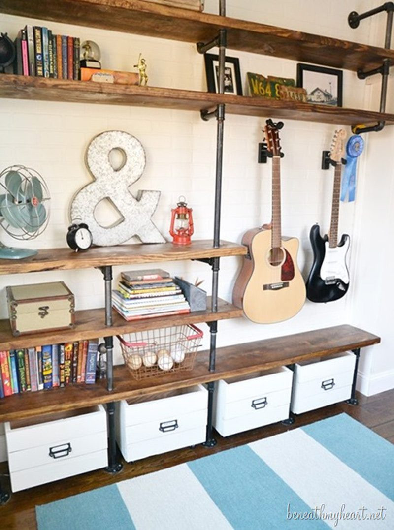 Best ideas about DIY Industrial Shelves . Save or Pin How to Make Industrial Shelves DIY & Crafts Handimania Now.