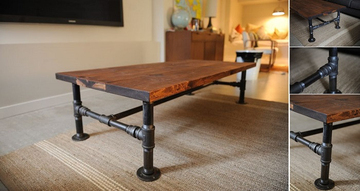 Best ideas about DIY Industrial Table . Save or Pin How To DIY Industrial Coffee Table Now.