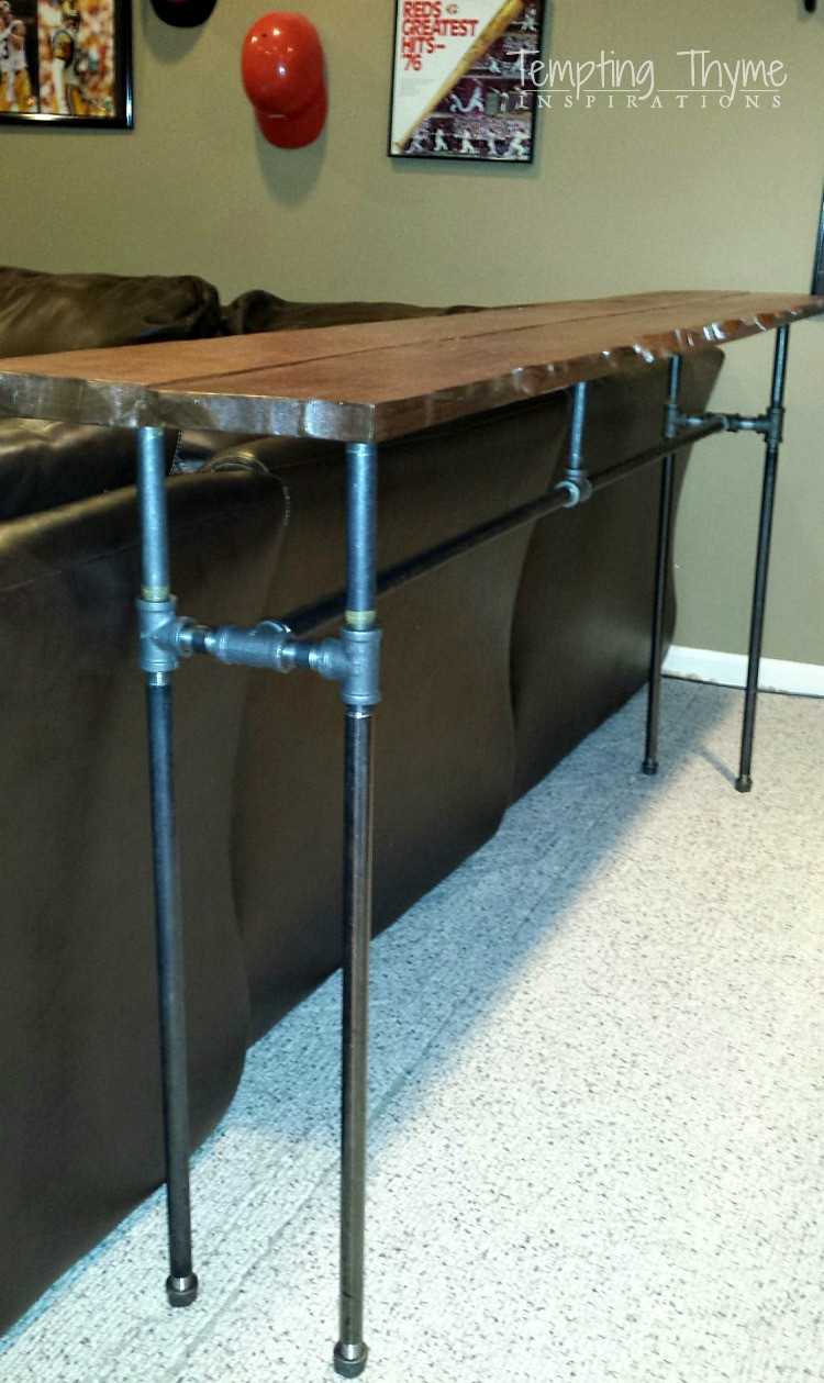 Best ideas about DIY Industrial Table . Save or Pin DIY Industrial Pipe Table Now.