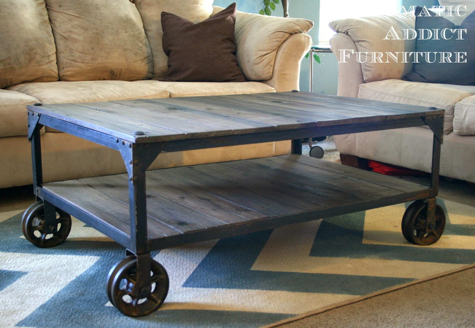 Best ideas about DIY Industrial Table . Save or Pin 50 DIY Industrial Decor Ideas Now.