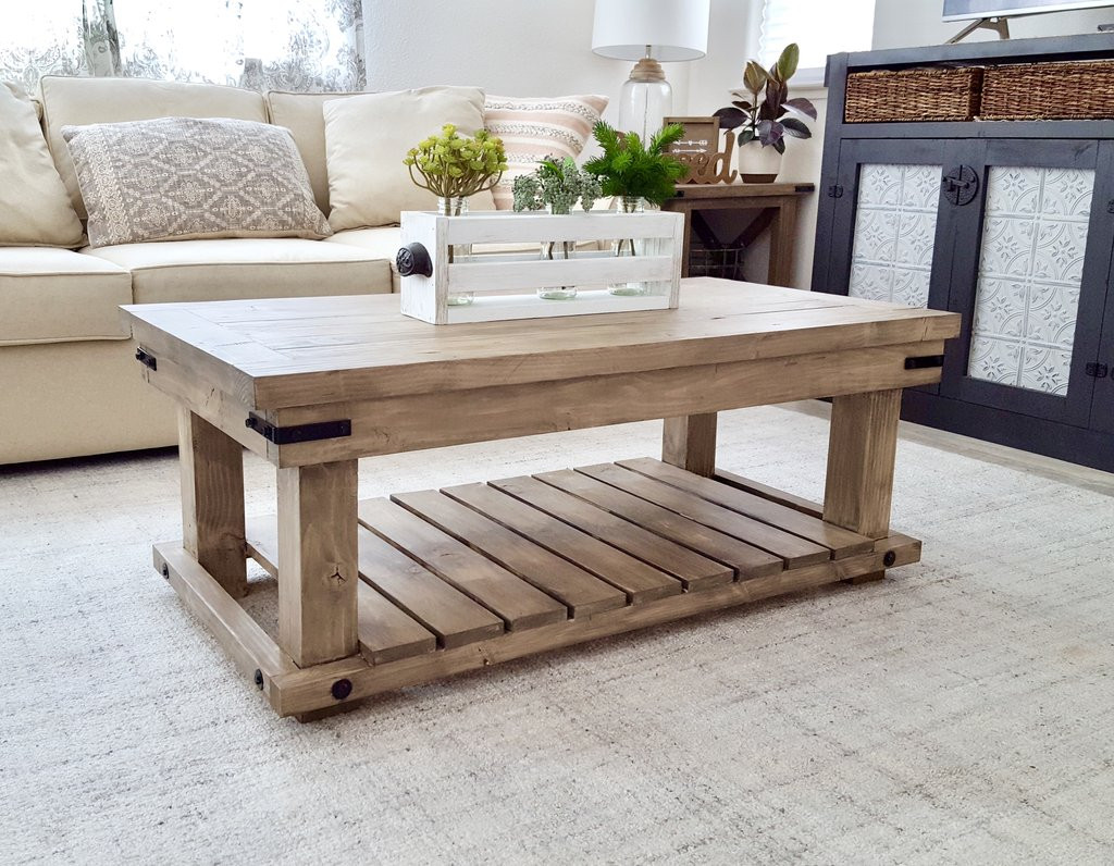 Best ideas about DIY Industrial Table . Save or Pin DIY Industrial Coffee Table Handmade Haven Now.
