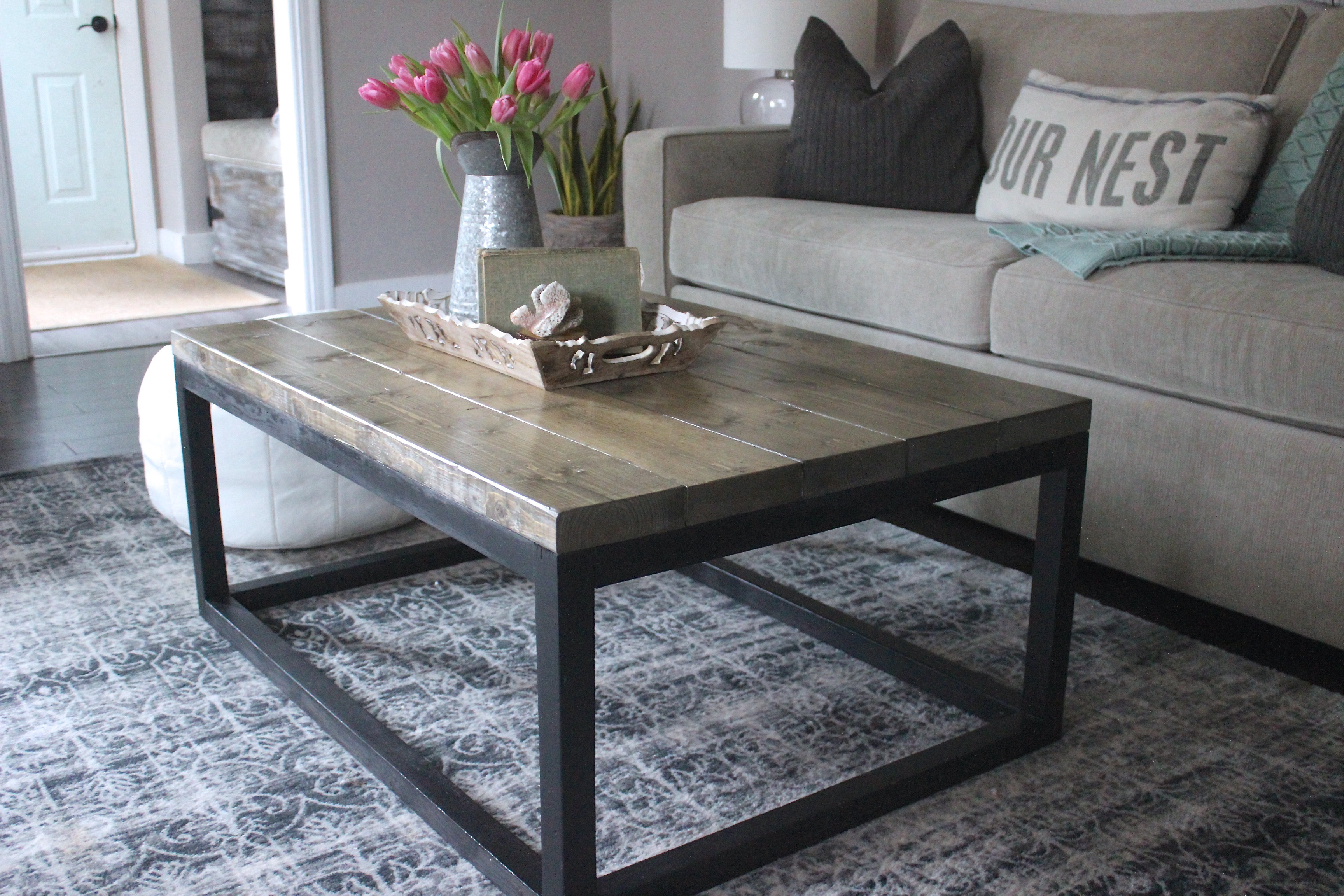 Best ideas about DIY Industrial Table . Save or Pin Ana White Now.
