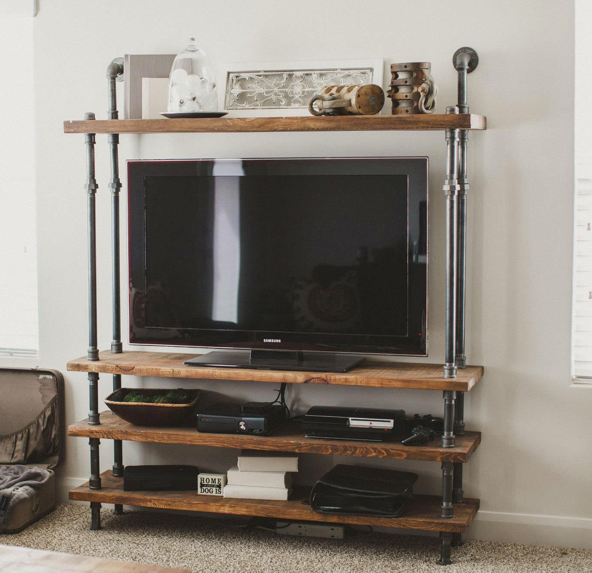 Best ideas about DIY Industrial Tv Stand . Save or Pin How to Choose a TV Stand Now.