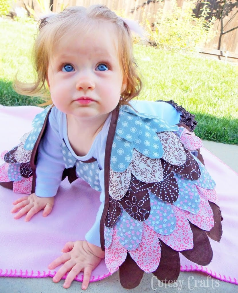Best ideas about DIY Infant Costume . Save or Pin DIY Baby Owl Costume Tutorial Cutesy Crafts Now.