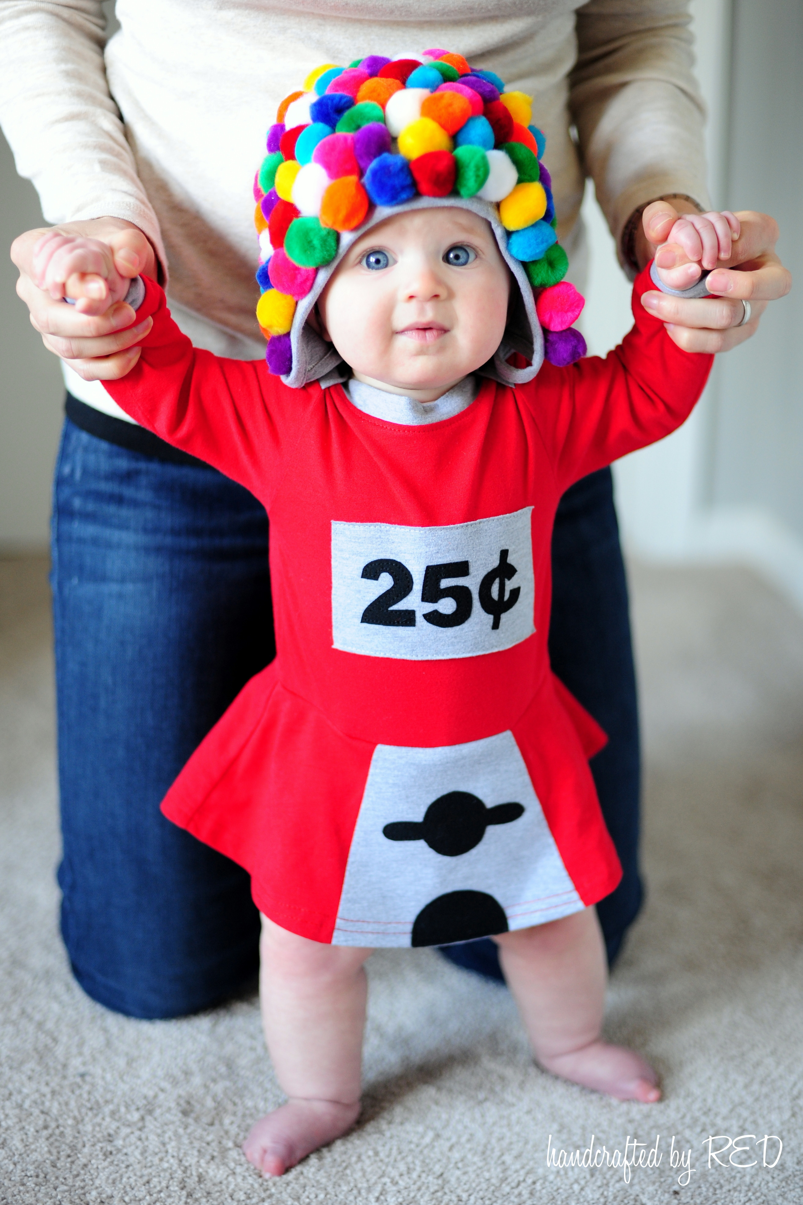Best ideas about DIY Infant Costume . Save or Pin DIY Baby Gumball Machine Costume Peek a Boo Pages Now.