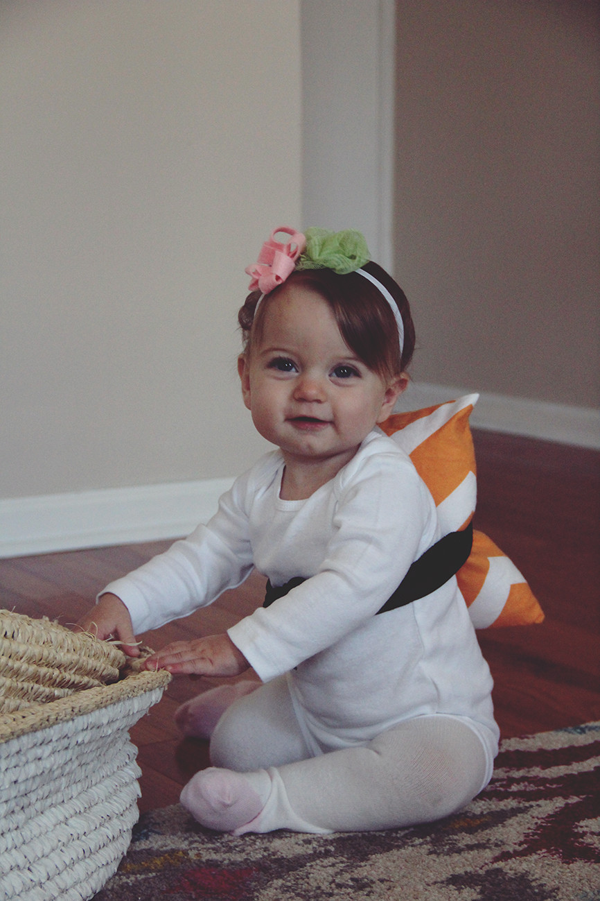 Best ideas about DIY Infant Costume . Save or Pin halloween costume DIY baby sushi – really risa Now.