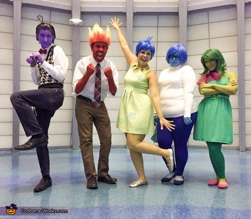 Best ideas about DIY Inside Out Costumes . Save or Pin DIY Inside Out Family Costume Now.