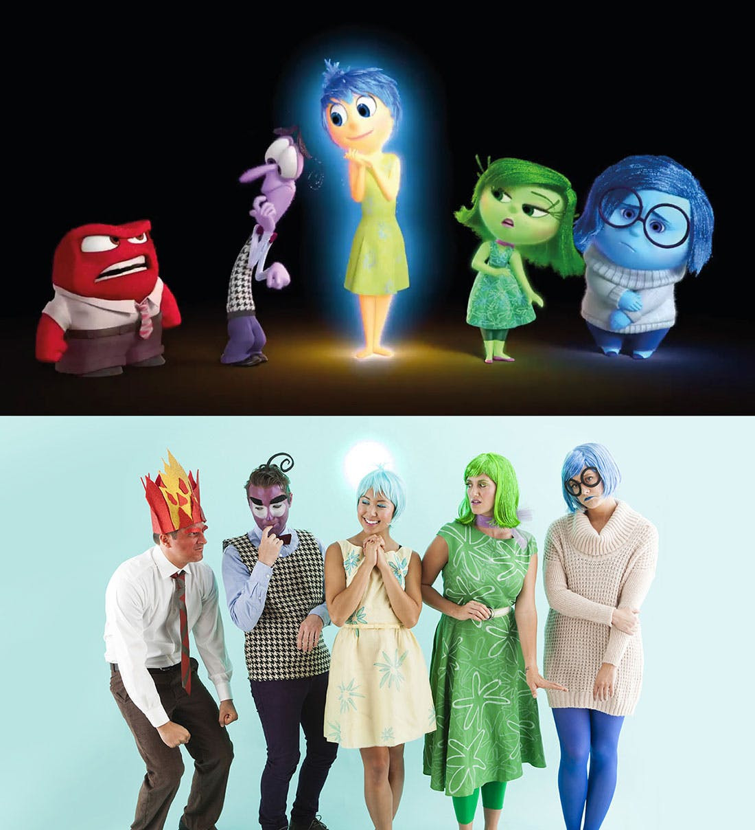 Best ideas about DIY Inside Out Costumes . Save or Pin How to Make Inside Out Characters for an Epic Group Now.