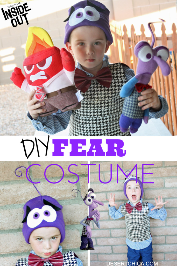 Best ideas about DIY Inside Out Costumes . Save or Pin DIY Fear from Inside Out Costume Now.