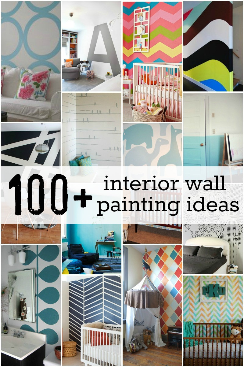 Best ideas about DIY Interior Painting . Save or Pin 100 Interior Painting Ideas Now.