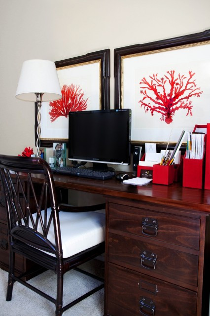 Best ideas about DIY Interior Painting . Save or Pin DIY Friday How to Mimic this Red Coral Painting Now.