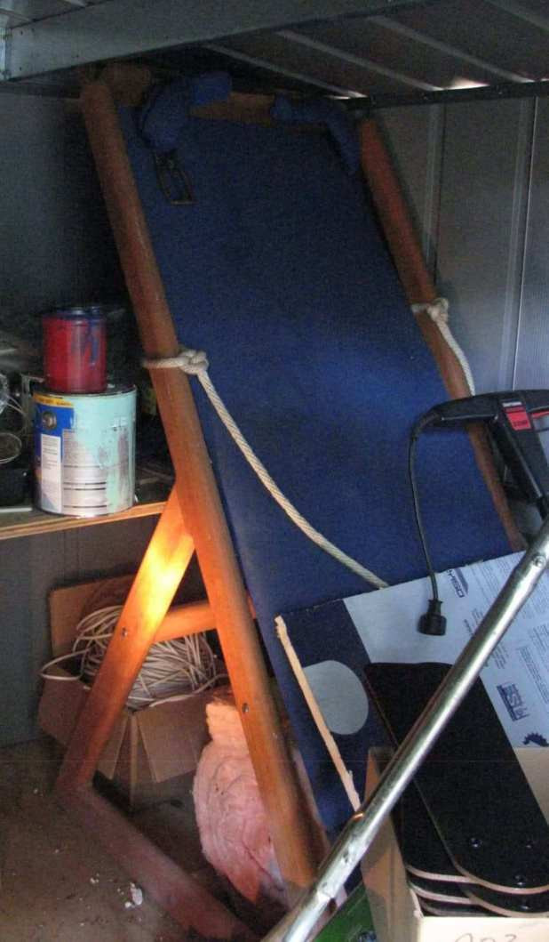 Best ideas about DIY Inversion Table Plans . Save or Pin homemade inversion table Now.
