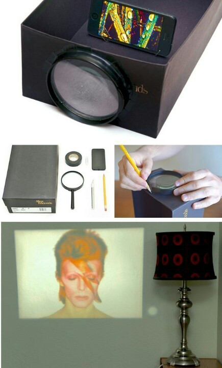 Best ideas about DIY Iphone Projector . Save or Pin Iphone projector DIY Now.