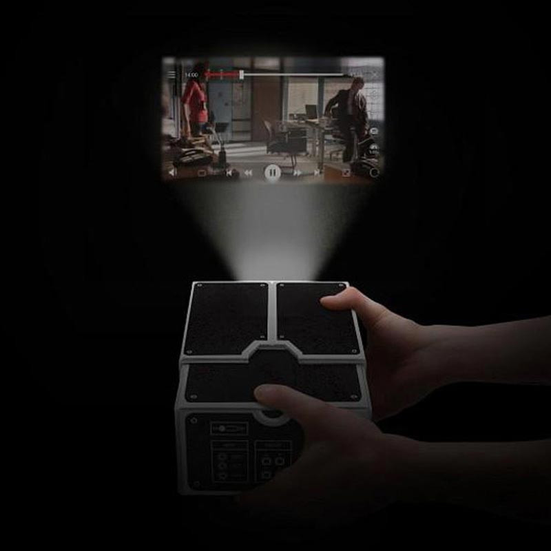 Best ideas about DIY Iphone Projector . Save or Pin DIY Cardboard Smartphone Projector For iPhone Android Now.