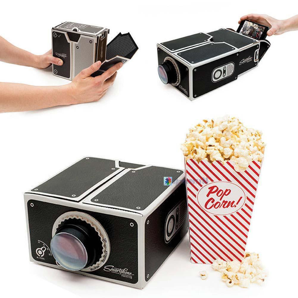 Best ideas about DIY Iphone Projector . Save or Pin Chic Cardboard Movie Video Cellphones DIY Projector For Now.