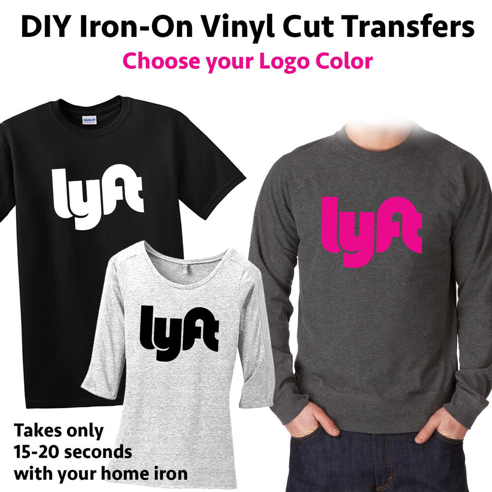 Best ideas about DIY Iron On Transfers . Save or Pin Lyft DIY Iron on Heat Transfer T Shirt Polo Sweater T Now.