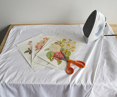 Best ideas about DIY Iron On Transfers . Save or Pin Dorm DIY Iron Transfer Floral Duvet Cover – Design Sponge Now.