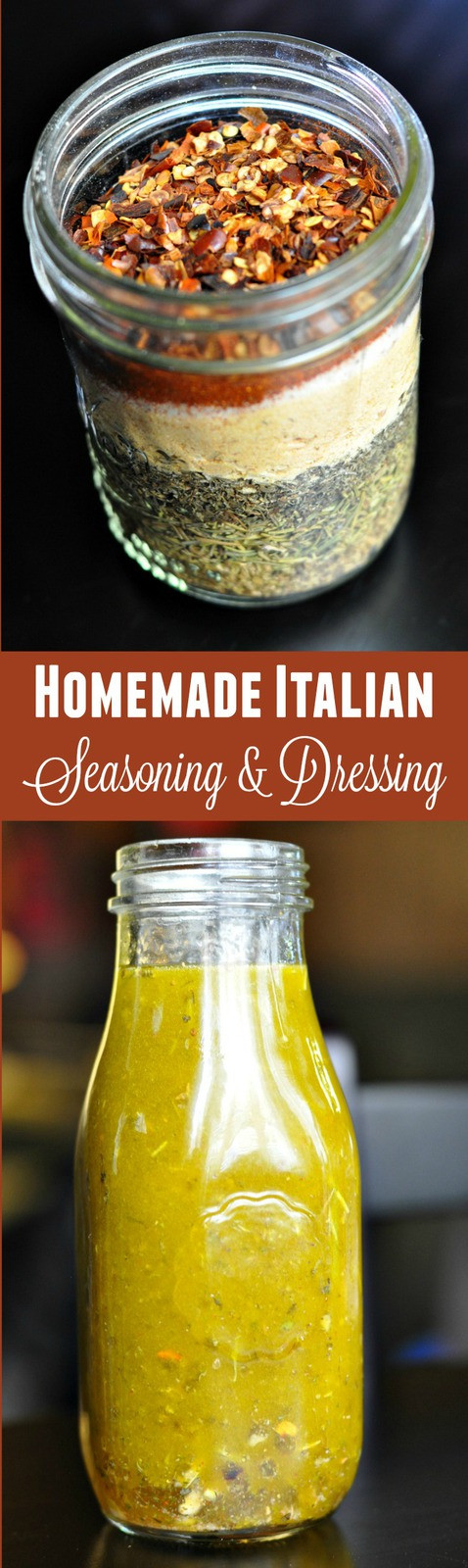 Best ideas about DIY Italian Dressing . Save or Pin Homemade Italian Seasoning & Italian Dressing Happy Now.