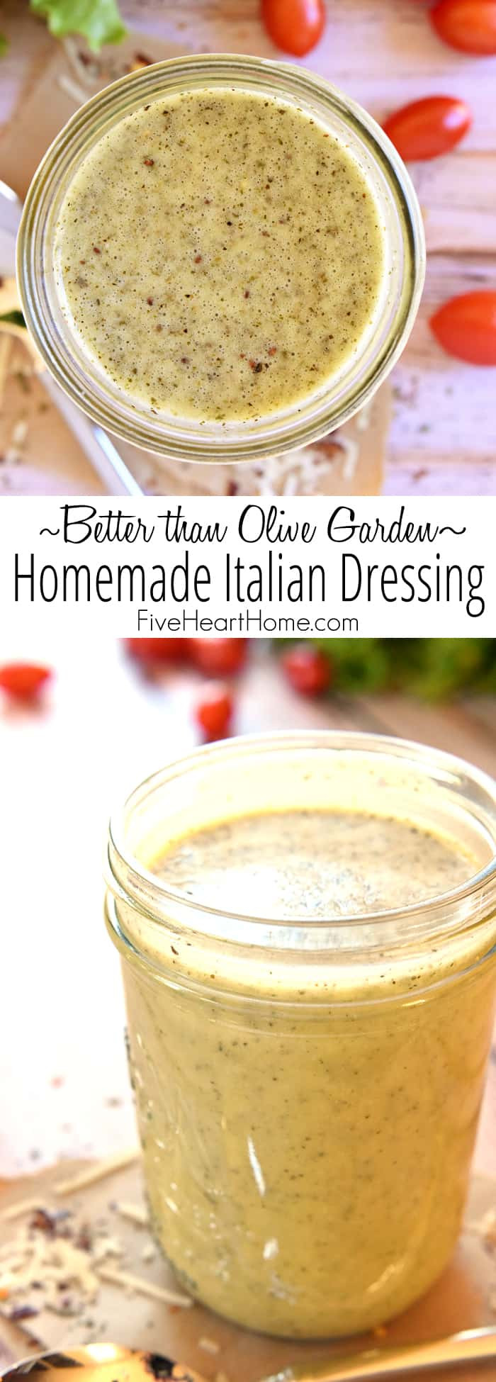 Best ideas about DIY Italian Dressing . Save or Pin Homemade Italian Dressing Now.