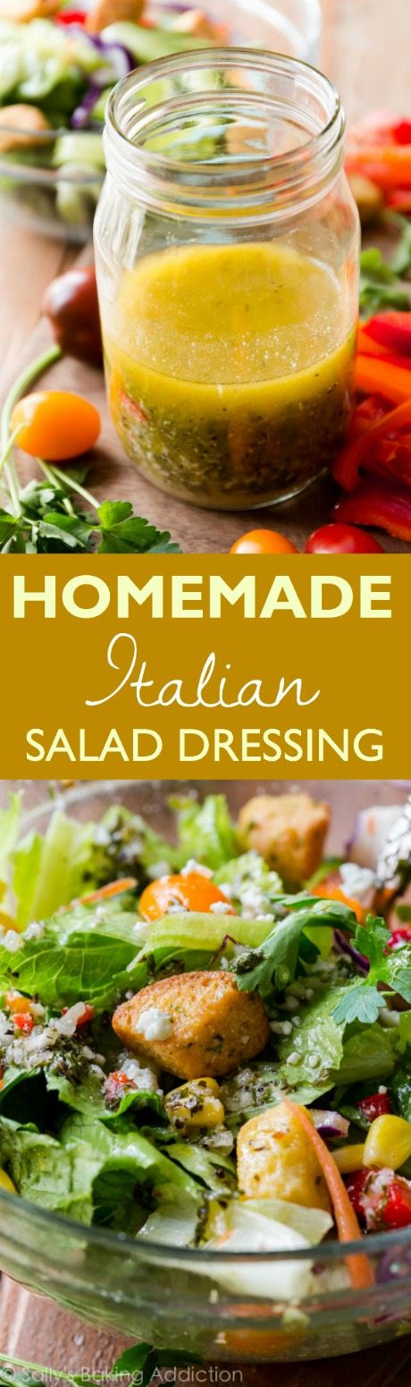 Best ideas about DIY Italian Dressing . Save or Pin Homemade Italian Dressing Sallys Baking Addiction Now.