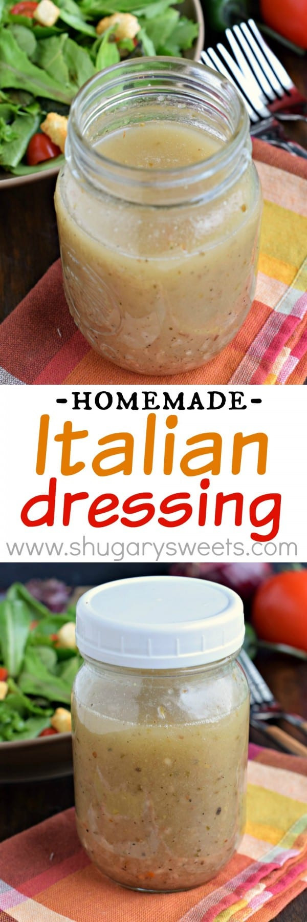Best ideas about DIY Italian Dressing . Save or Pin Homemade Italian Dressing Shugary Sweets Now.